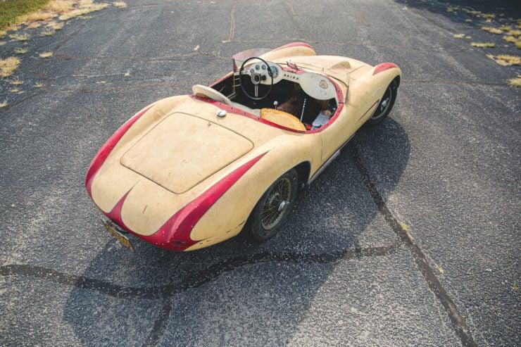 Devin Triumph Car Back