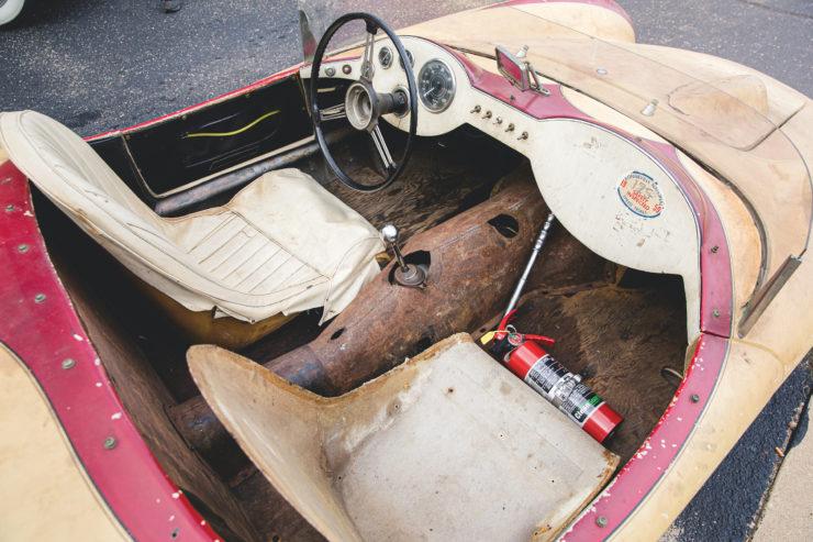 Devin Triumph Car Cockpit