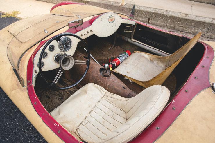 Devin Triumph Car Interior