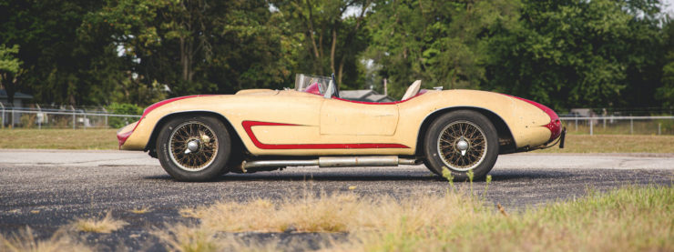Devin Triumph Car Side