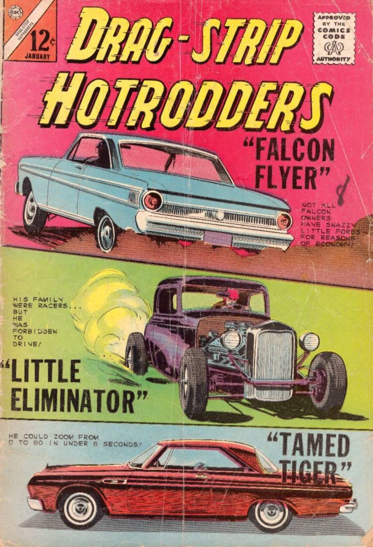 Drag Strip Hotrodders Comic Book 1