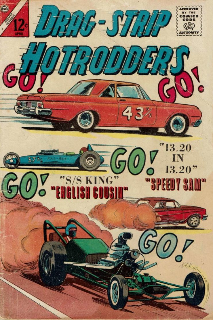 Drag Strip Hotrodders Comic Book 2