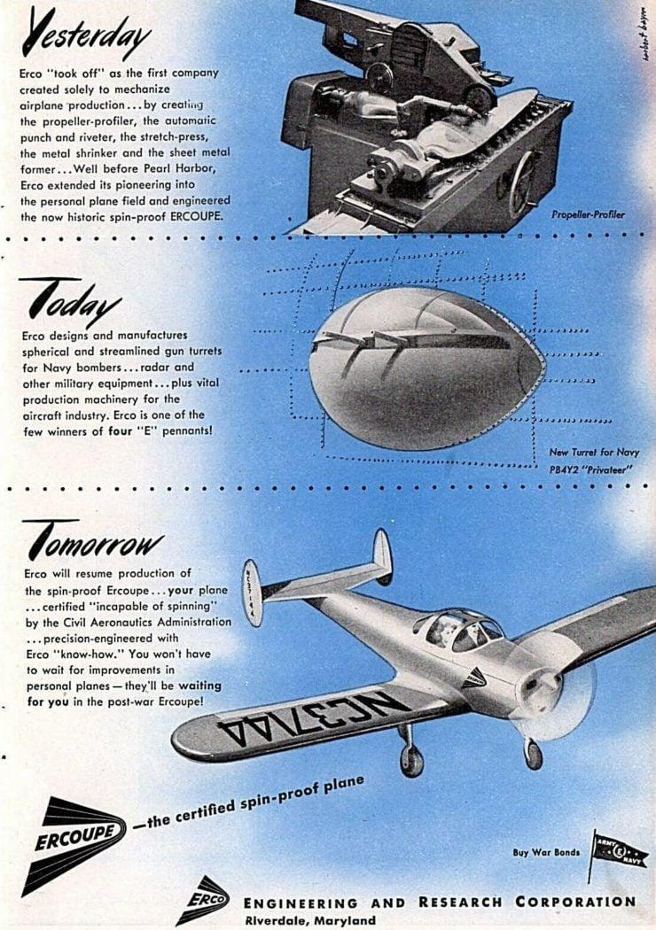 Ercoupe Plane Ad 2