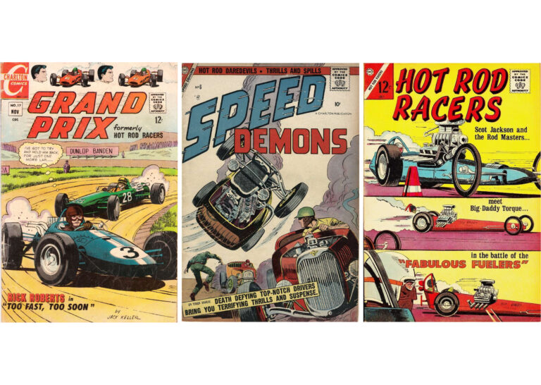 An Incredible Collection Of Free, Downloadable Golden Age Racing + Hot Rod Comic Books