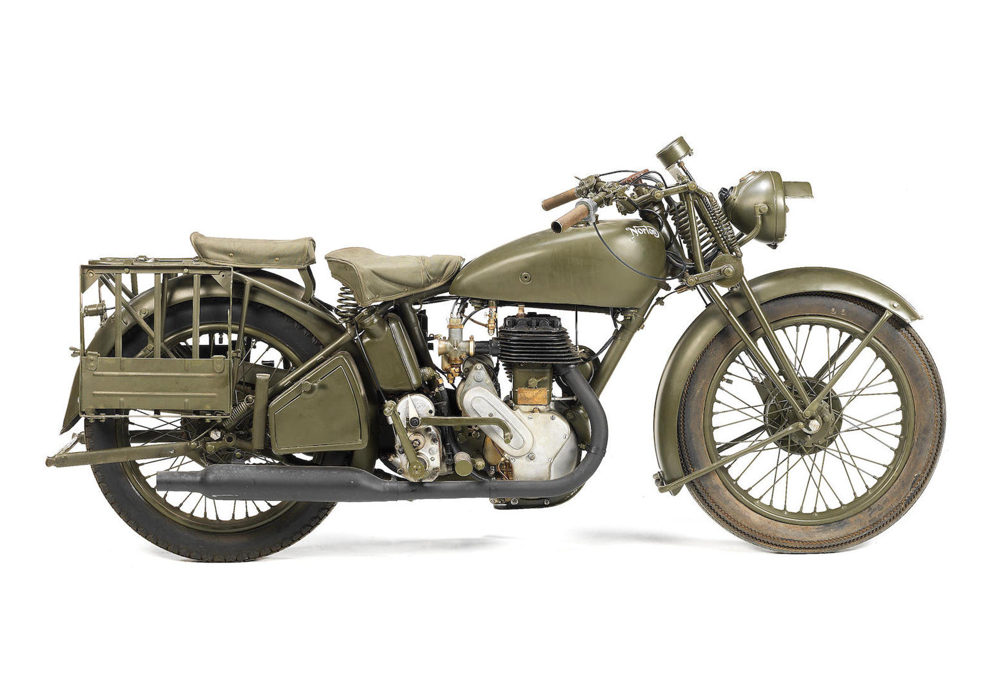 A Brief History of the Norton 16H - The World War II Workhorse