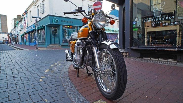 Honda CB750 Front