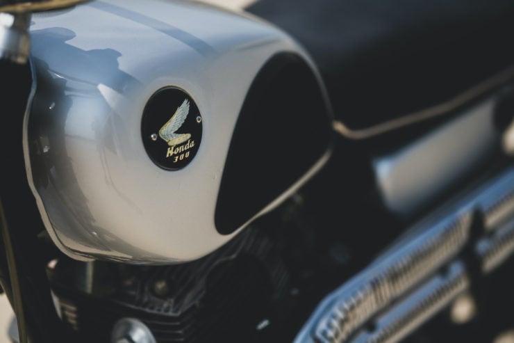 Honda CL77 Scrambler Fuel Tank
