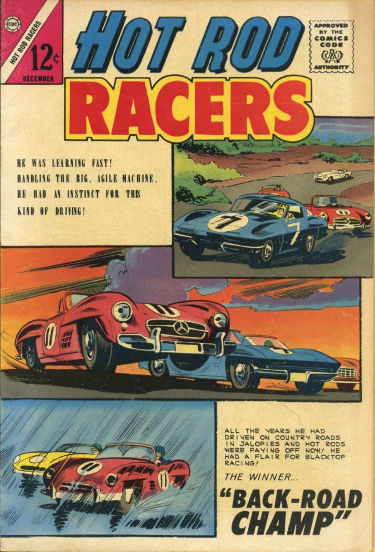Hot Rod Racers Comic Book 1