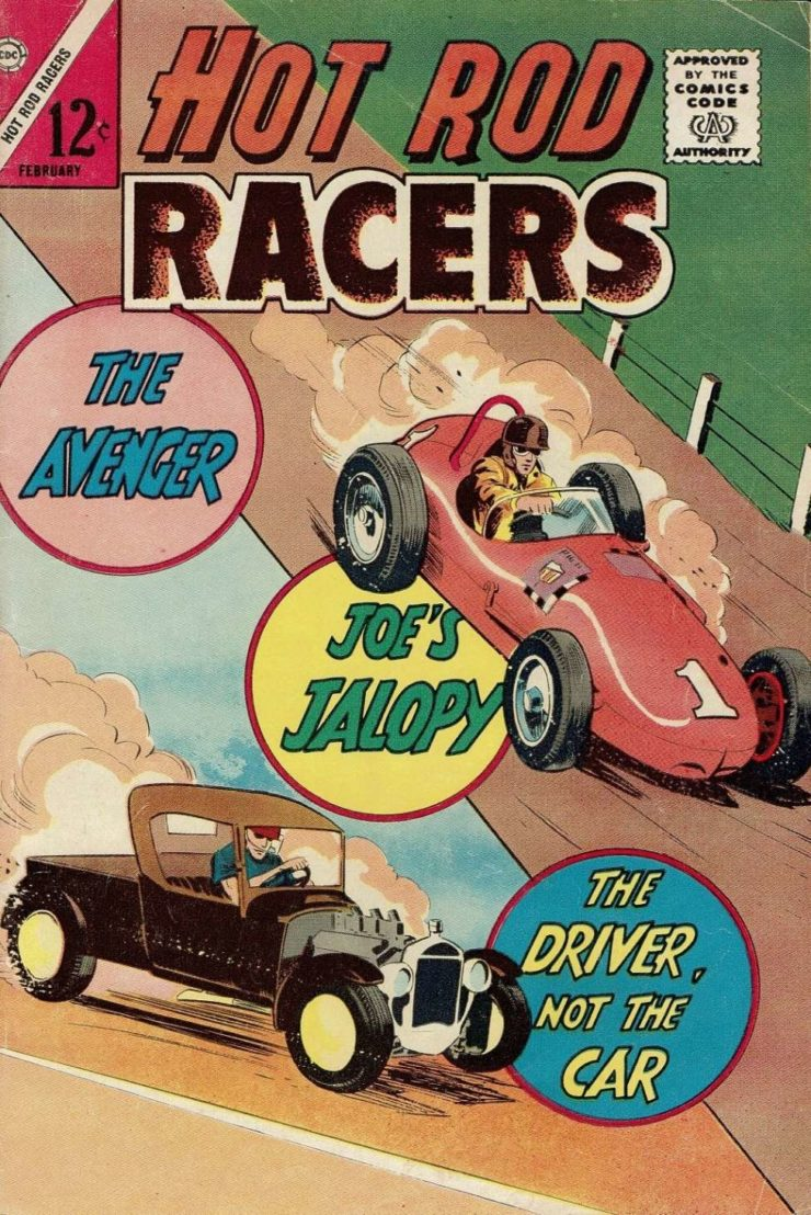 Hot Rod Racers Comic Book 2