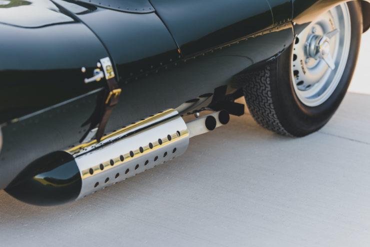 Jaguar XKSS Exhaust