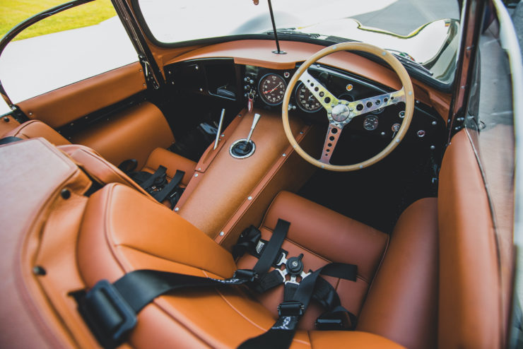Jaguar XKSS Interior