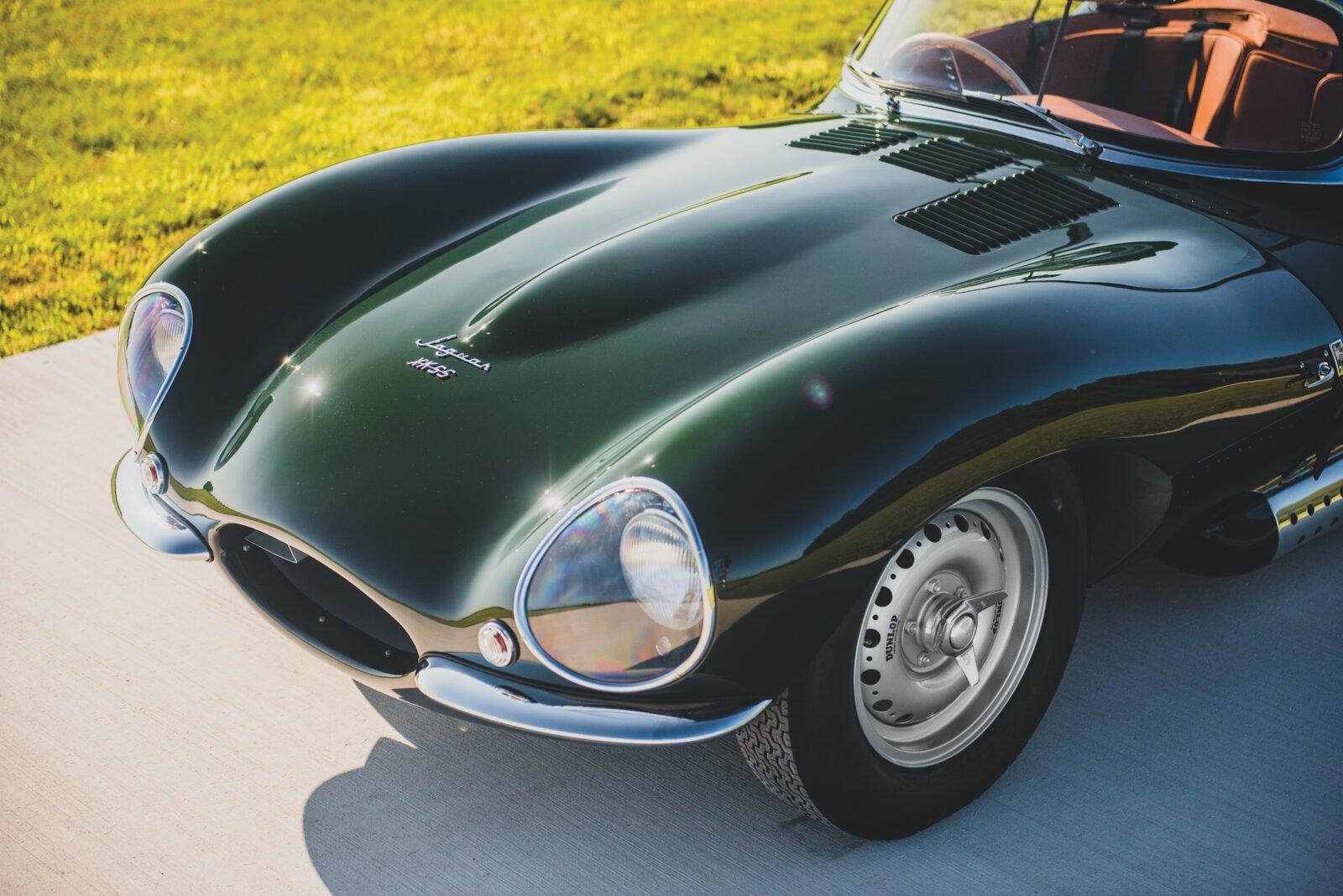 Jaguar XKSS Nose