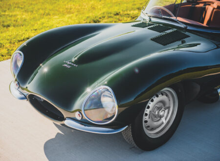 Jaguar XKSS Nose