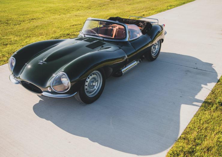 Jaguar XKSS Overhead