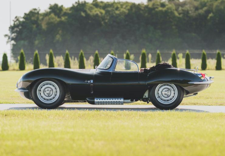 Jaguar XKSS Side