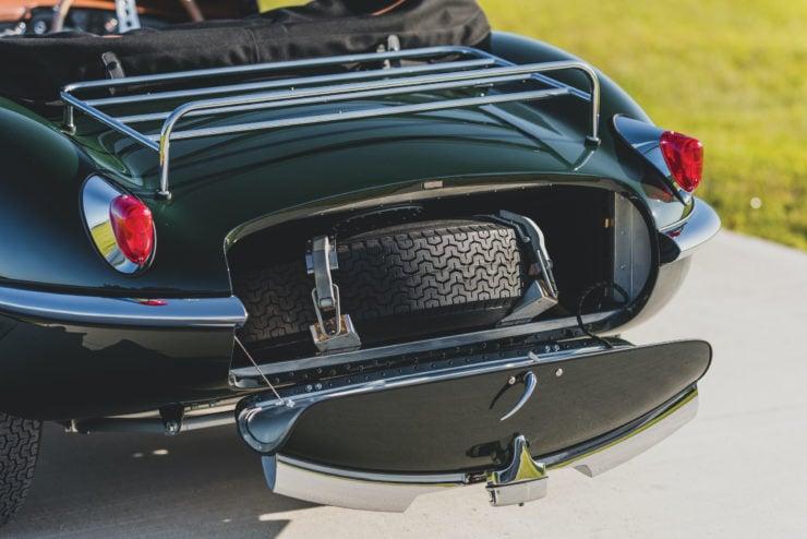 Jaguar XKSS Spare Tire