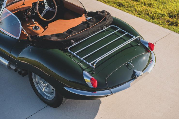 Jaguar XKSS Tail
