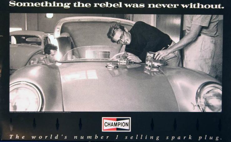 James Dean Porsche