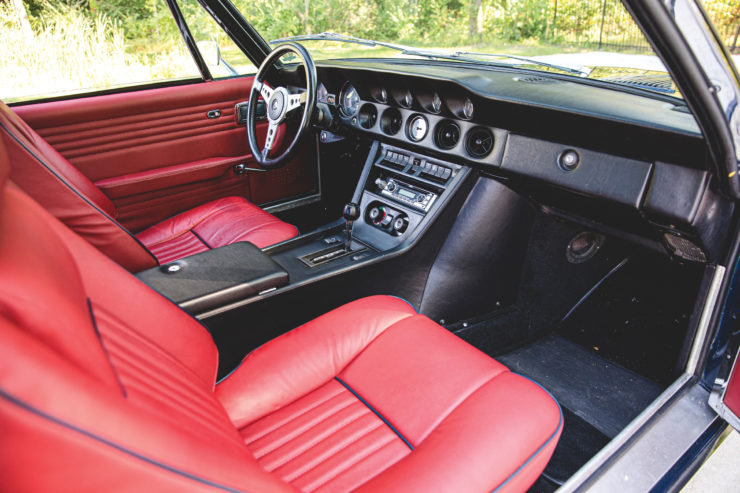 Jensen Interceptor II Seats