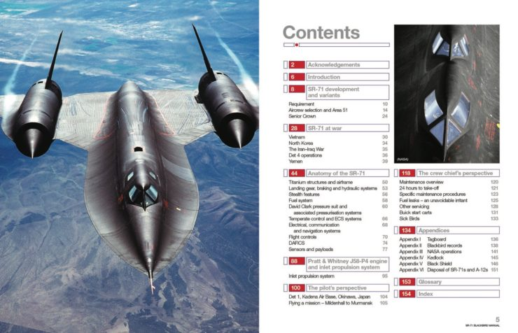 Lockheed SR-71 Blackbird Owner's Workshop Manual 1