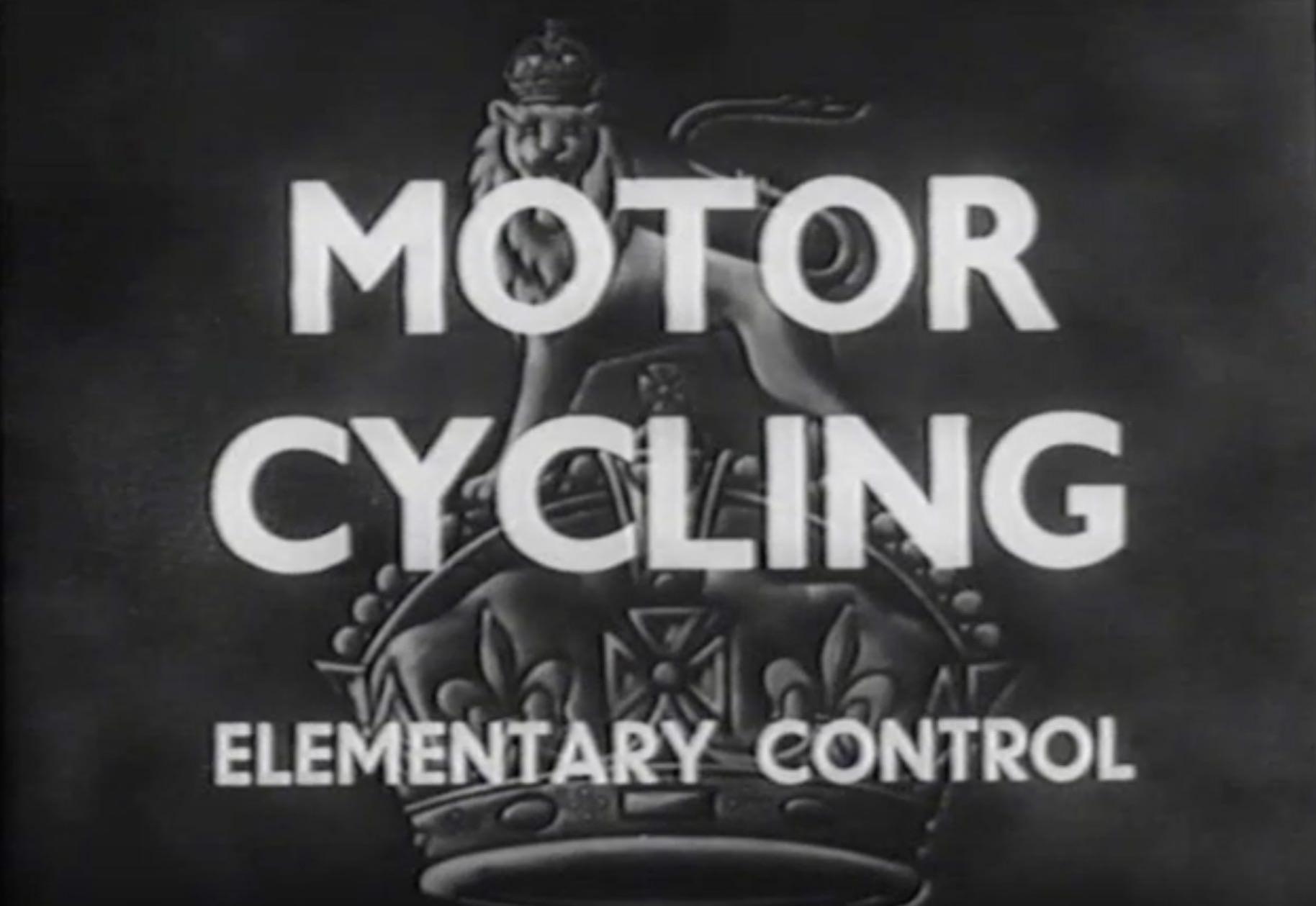 Motor Cycling Elementary Control