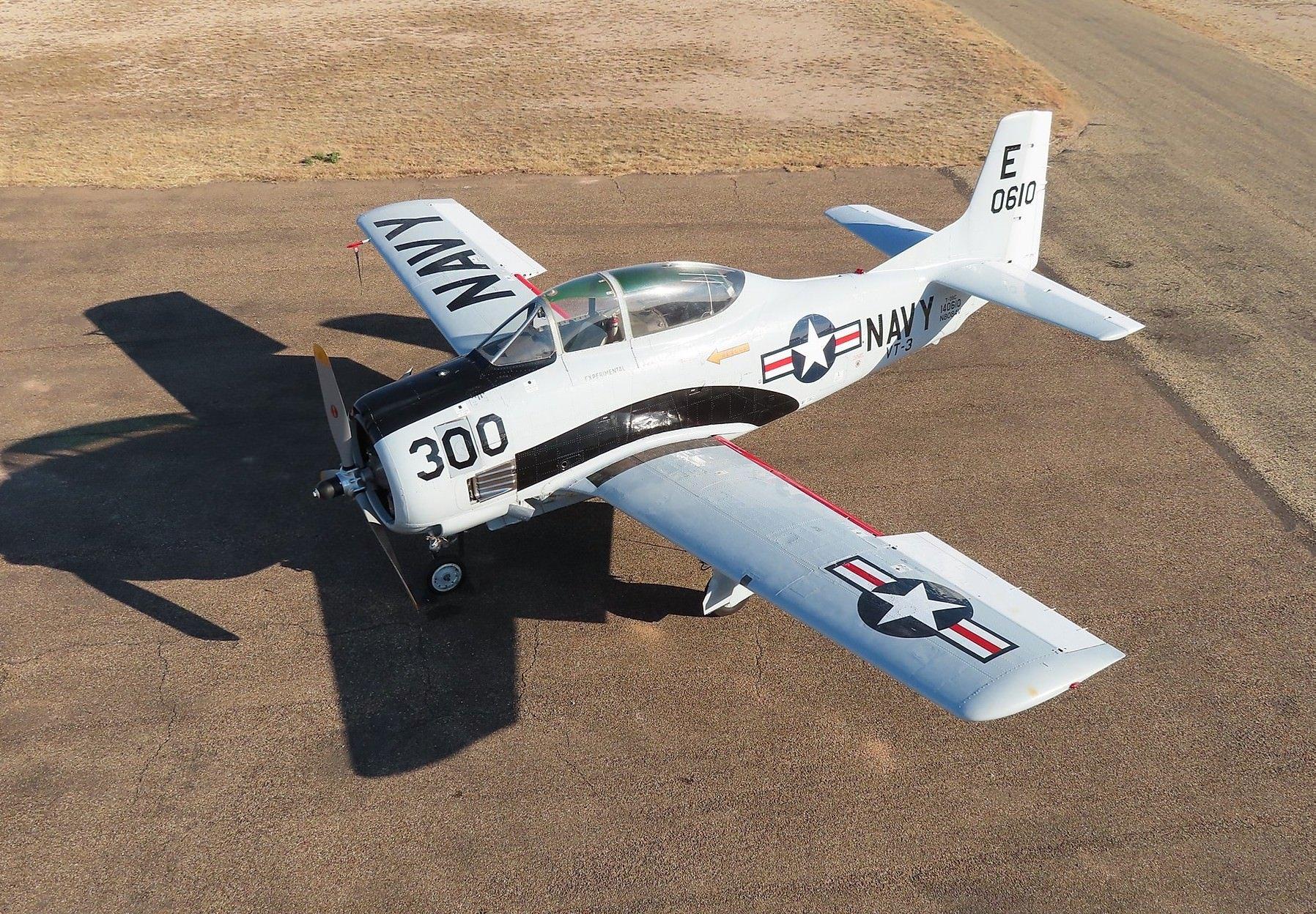 North American Aviation T-28 Overhead