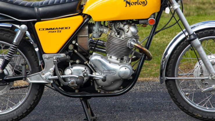 Norton Commando 750 S Engine