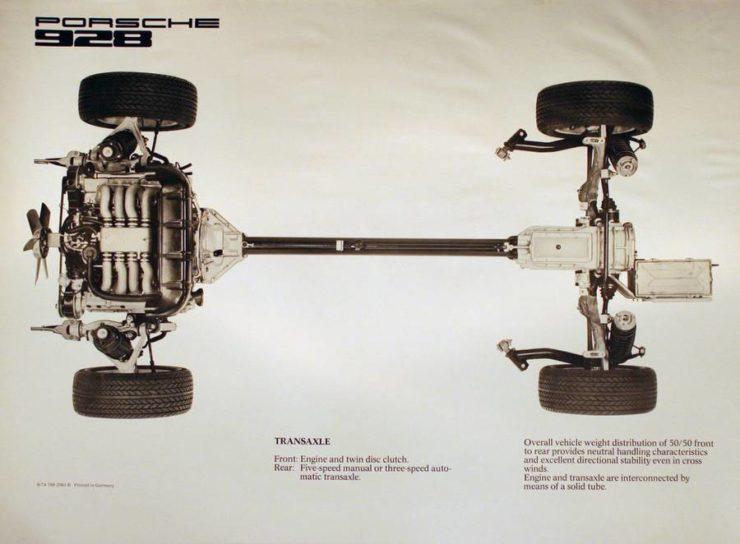 Porsche 928 Drive Train