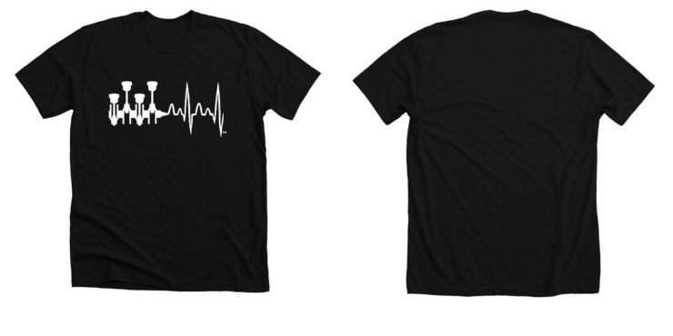RPM x BPM T-Shirt Black