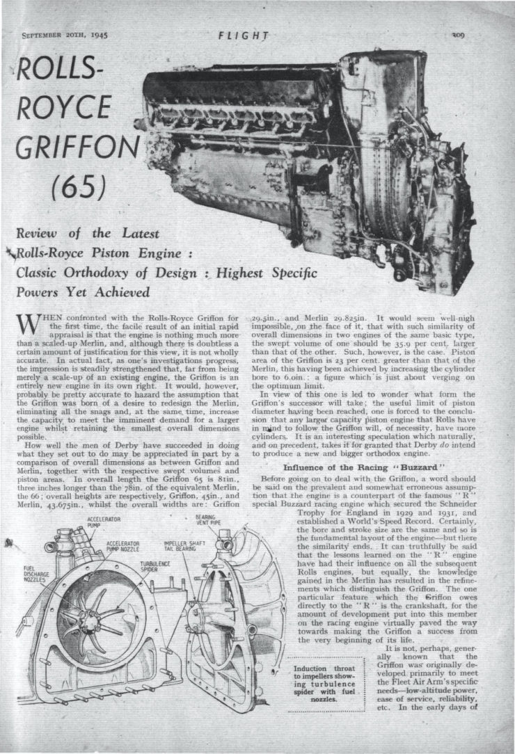 Rolls-Royce Griffon Page 1