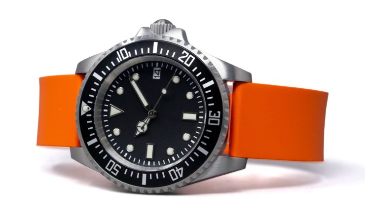 Rotate North Atlantic Automatic Dive Watch Orange