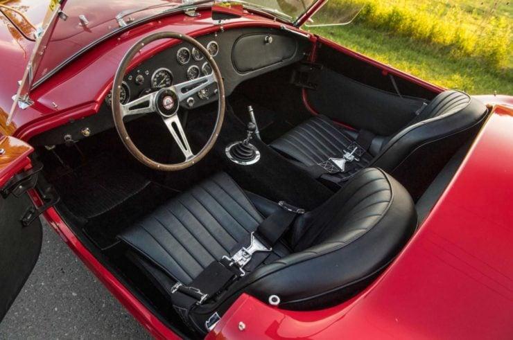 Shelby Cobra Interior