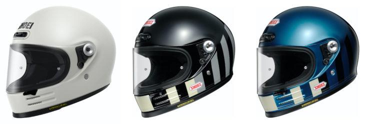 Shoei Glamster Helmet Collage