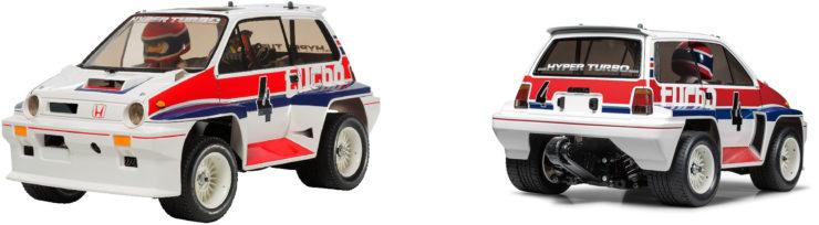 Tamiya Honda City Turbo Back
