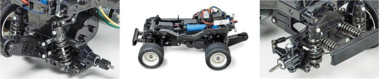 Tamiya Honda City Turbo Suspension