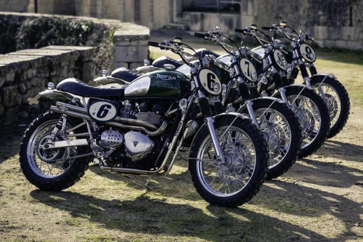 Triumph Scrambler Custom Green Legend 15