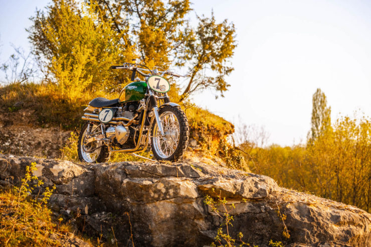 Triumph Scrambler Custom Green Legend 3