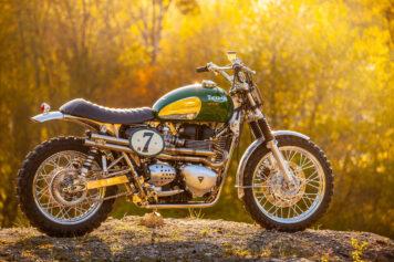 Triumph Scrambler Custom Green Legend 4
