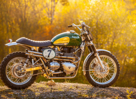 Triumph Scrambler Custom Green Legend 4
