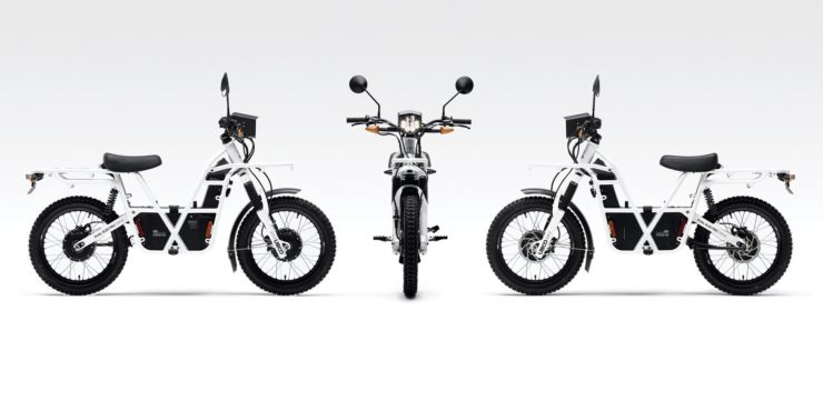 UBCO 2x2 Electric Motorcycle Aspects