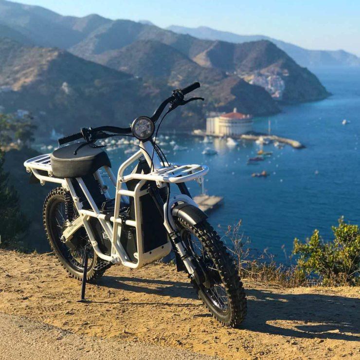 UBCO 2x2 Electric Motorcycle Bay