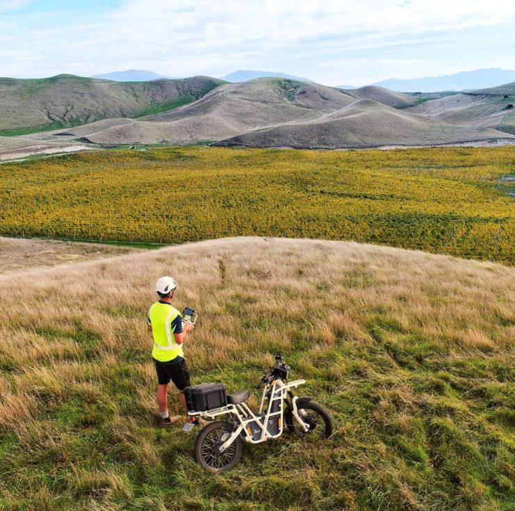 UBCO 2x2 Electric Motorcycle Hilltop