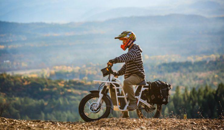 UBCO 2x2 Electric Motorcycle Mountain