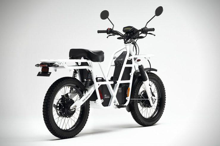 UBCO 2x2 Electric Motorcycle Rear