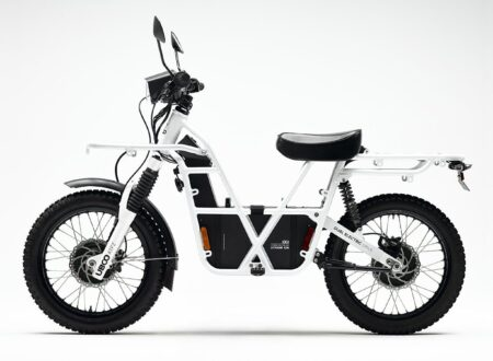 UBCO 2x2 Electric Motorcycle Side 2