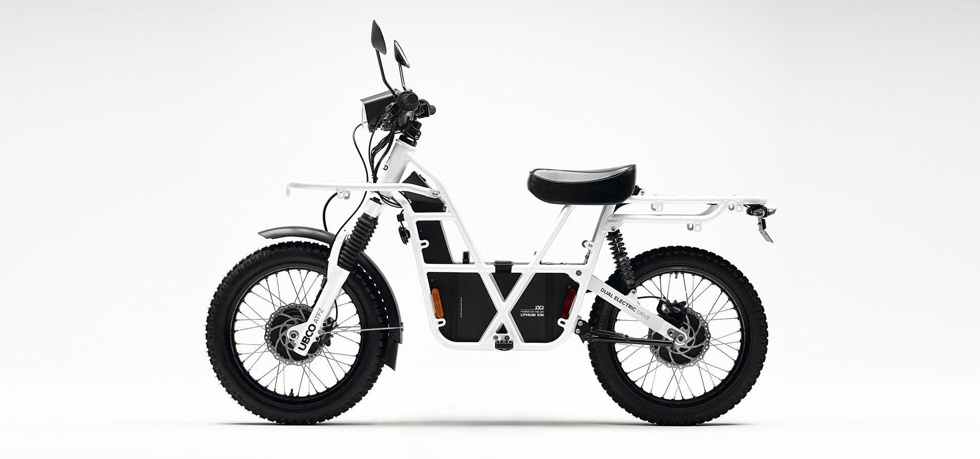 UBCO 2x2 Electric Motorcycle Side 2