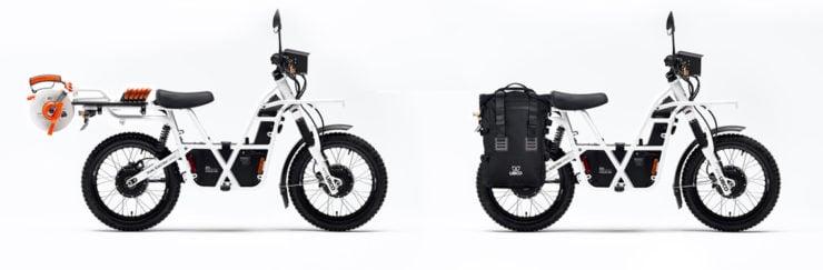 UBCO 2x2 Electric Motorcycle Side 3