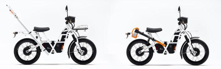 UBCO 2x2 Electric Motorcycle Side 4