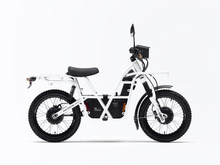 UBCO 2x2 Electric Motorcycle Side
