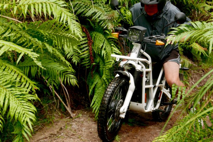UBCO 2x2 Electric Motorcycle Trail